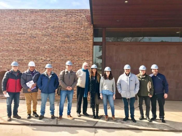 Visita a planta de autoridades del colegio de ingenieros de córdoba