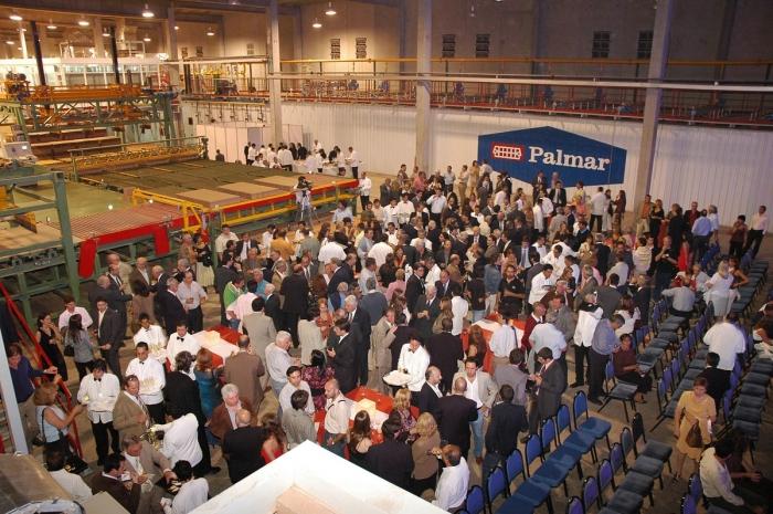 Fiesta de inauguración de la nueva planta palmar